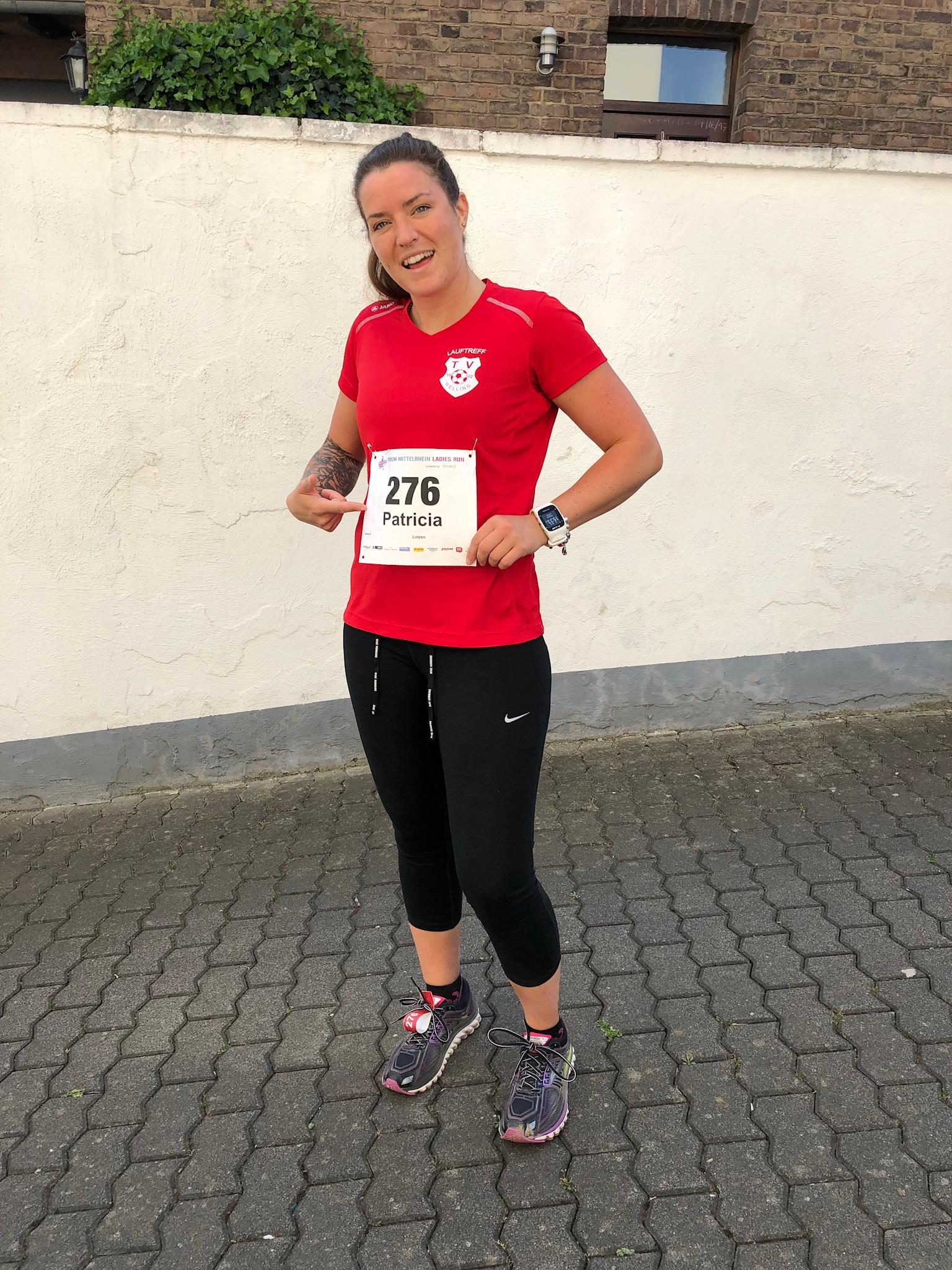 Lauftreff des TV Welling 02 auch beim Ladies Run in